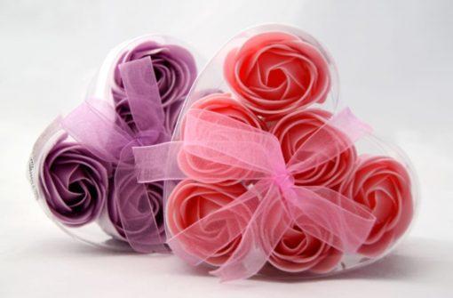 Rosas de jabón cosmetica corporal Le parfum Secret MD