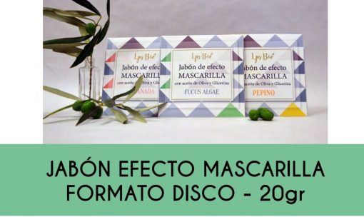 Jabon efecto mascarilla formato disco le parfum secret